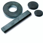 Ceramic magnets in discs, block, rings and cups in various sizes and grades
