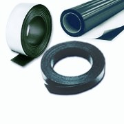 Flexible magnetic sheets, sheeting and strips in various lengths and finishe.